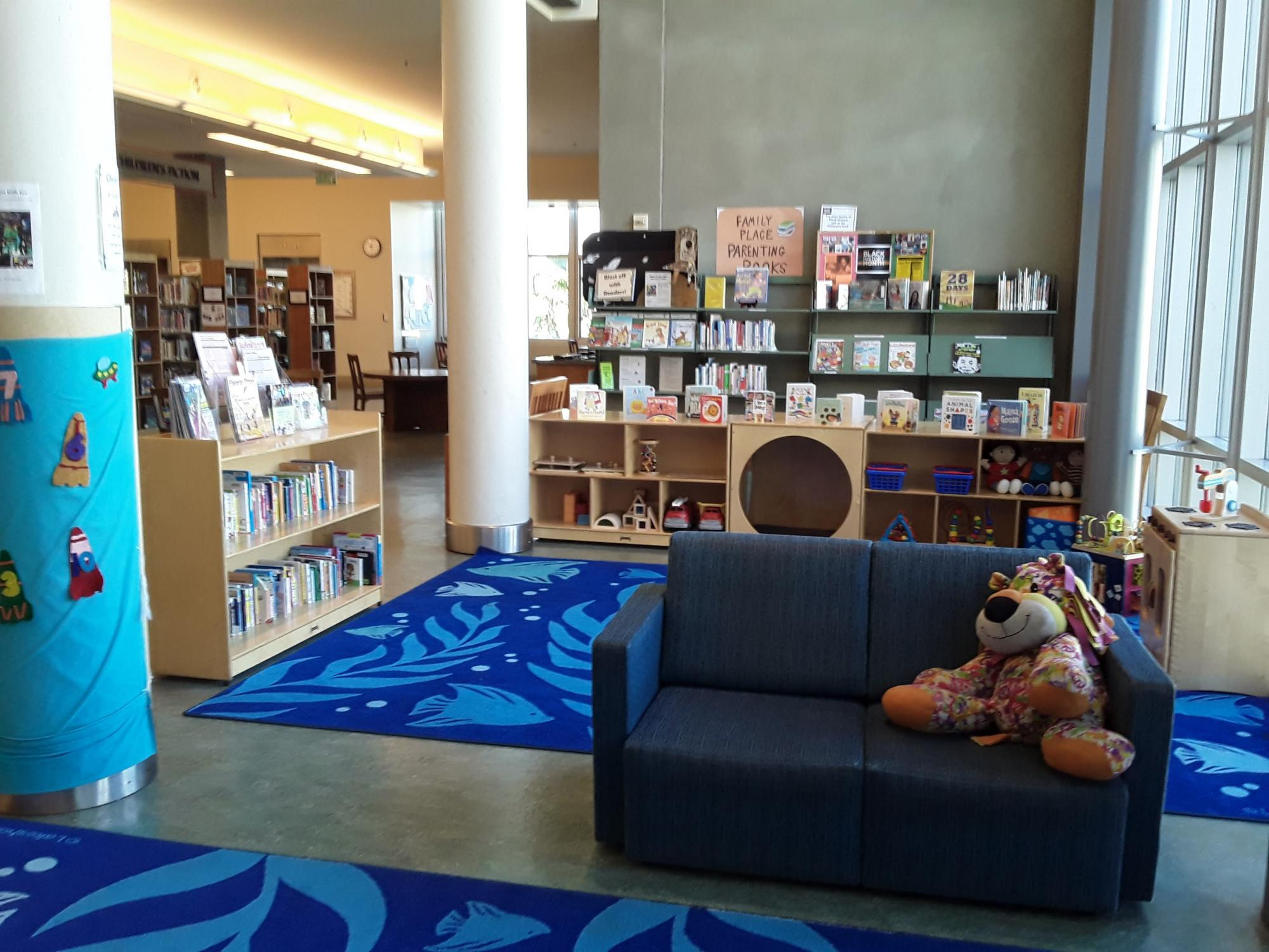 Family Place play area, Berkeley Public Library