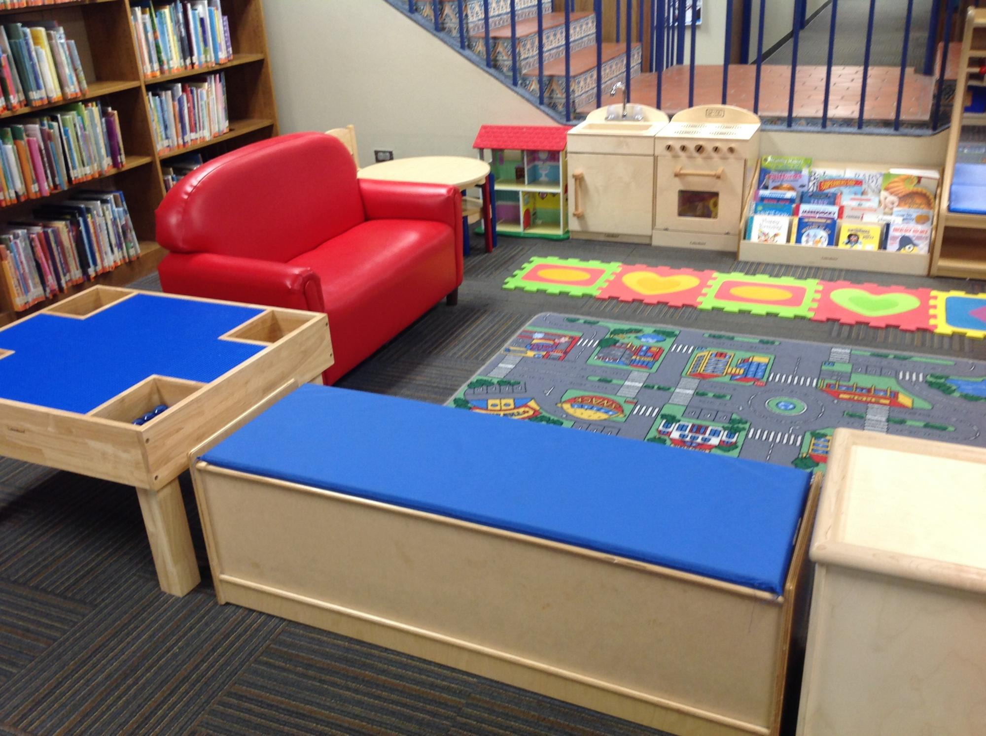 Family Place Children's Area in the library