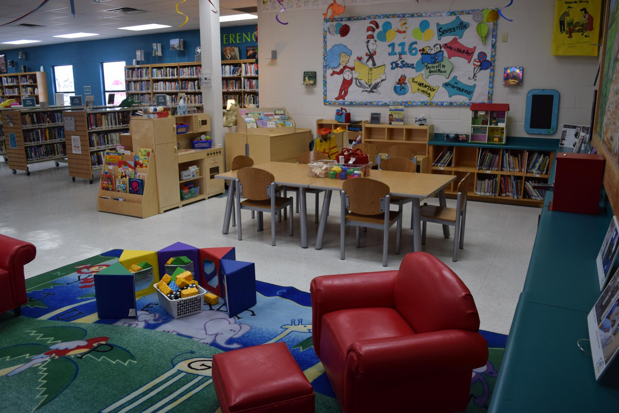 Penitas Library Family Place Area