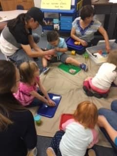 Kendrick Memorial Library:  Family Place Workshop (Exploratory Play)