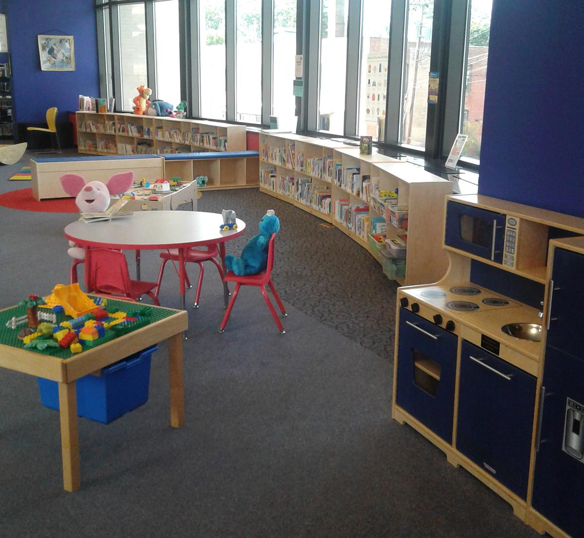 Guthrie Memorial Library Family Place play area