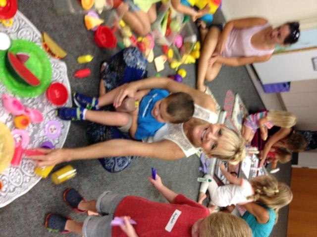 Family Place workshop at the Hobe Sound library