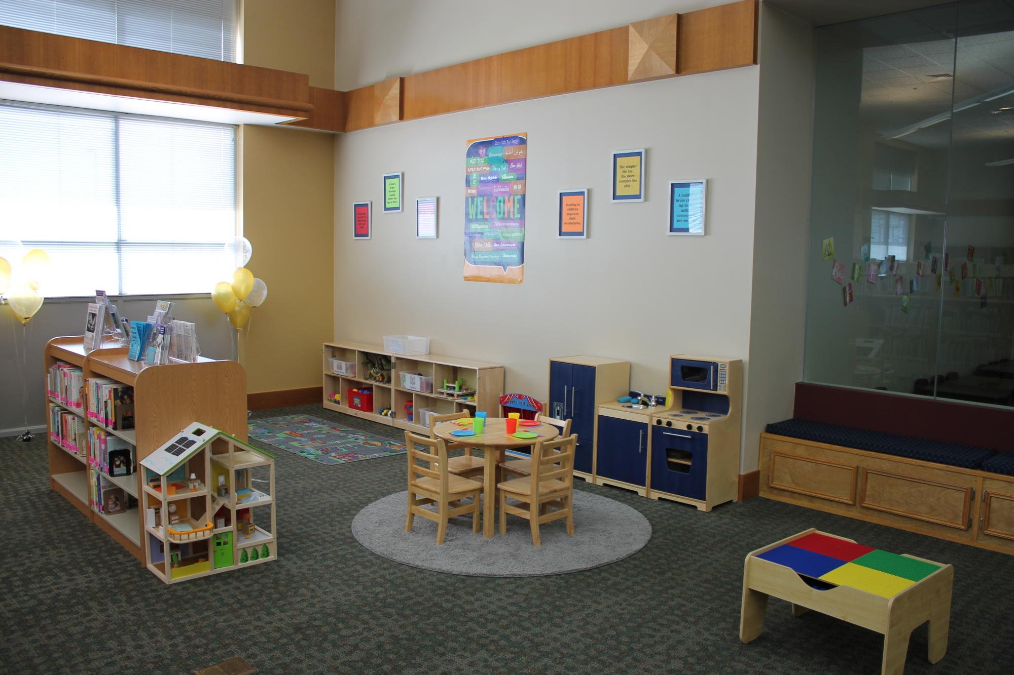Harker Heights Public Library Friends & Family Learning Space
