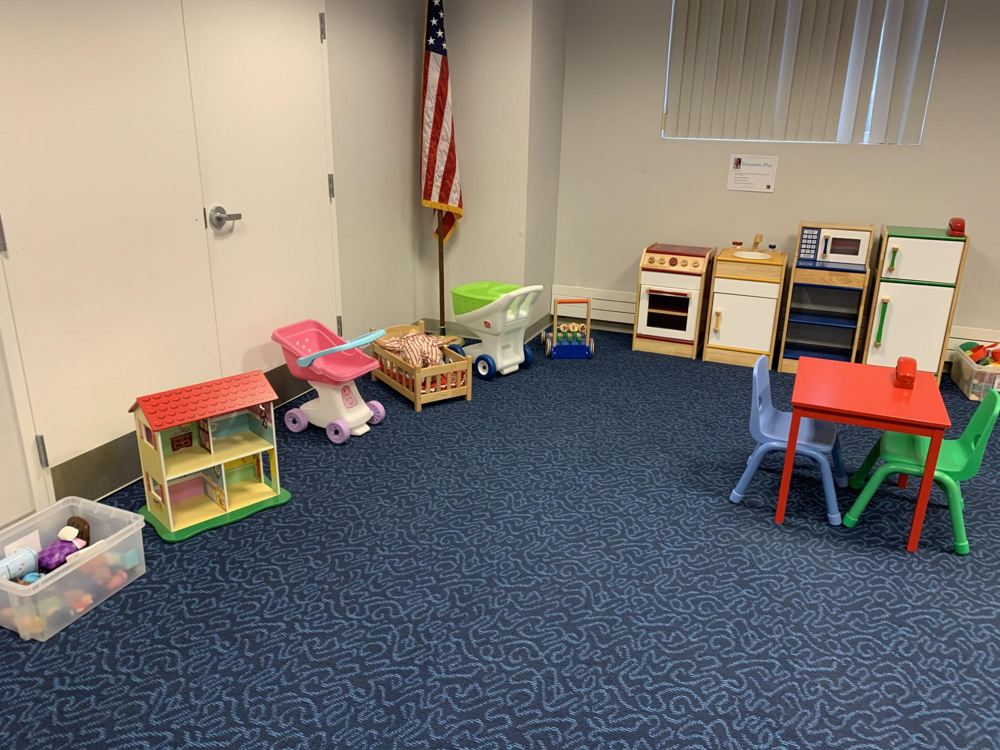 Parent Child Workshop space
