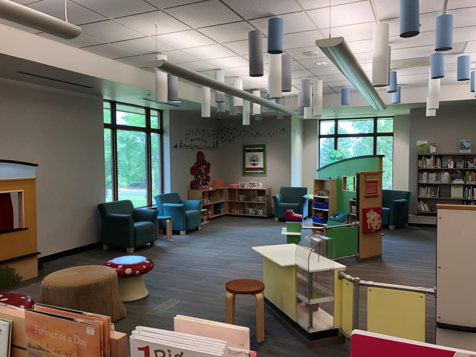 Koelbel Library Family Place Area