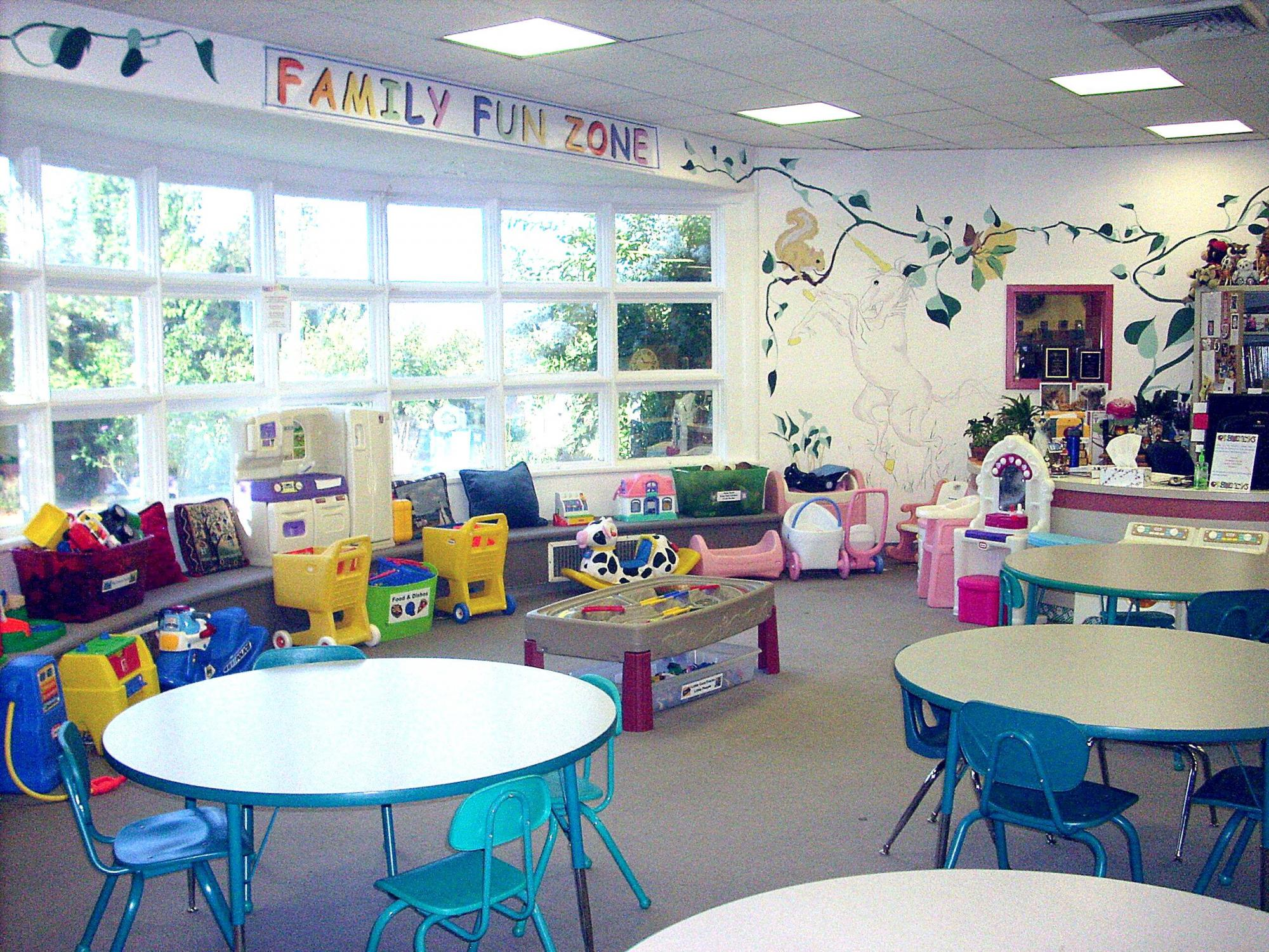 Family Fun Zone at the Blue Ridge Regional Library in Martinsville, VA