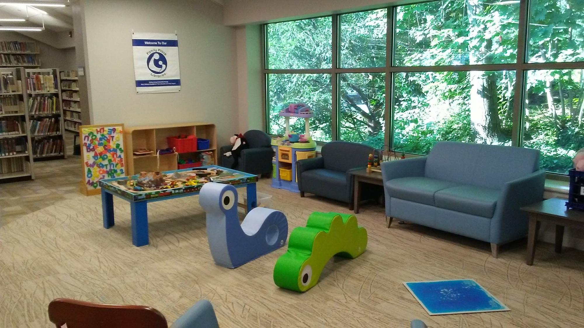 Family Place Play Area at Radnor Memorial Library