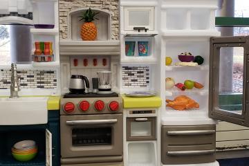 Our New Play Kitchen