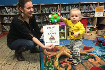 1000 Books Before Kindergarten in Family Place Area
