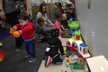 The PCW and Baby & Toddler Play series include lots of developmentally appropriate toys.