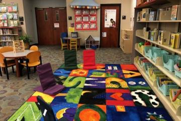 CCPL Main Library Play Space