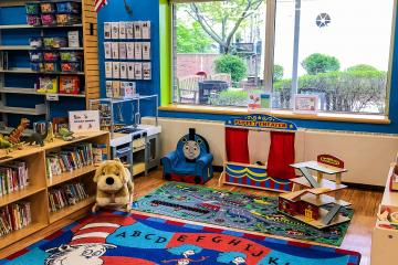 Riverhead Free Library's Family Place Area