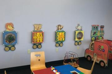 Children's area at the Blake library.