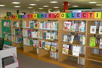 Parent/Teacher Collection at the Blue Ridge Regional Library in Martinsville, VA